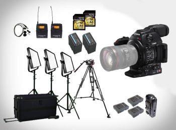 Canon C200 Bundle mieten